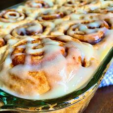Fresh Flour Cinnamon buns!