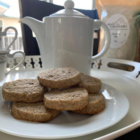 Swedish Rye Tea Biscuits