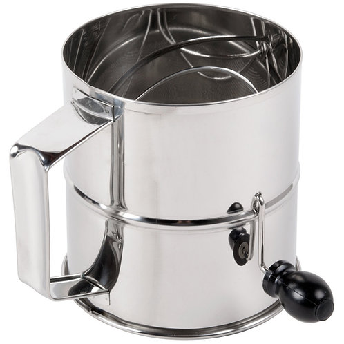 8 Cup Rotary Flour Sifter