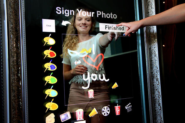 magic selfie mirror, photobooth