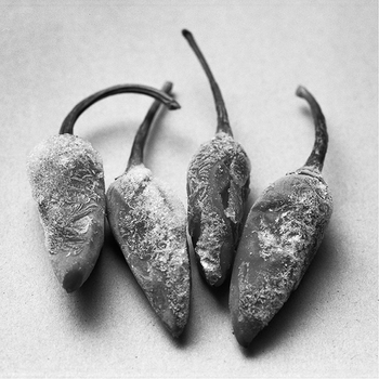 Frozen chilli peppers, 2015.