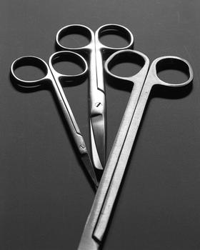 Three scientific scissors, 2014.