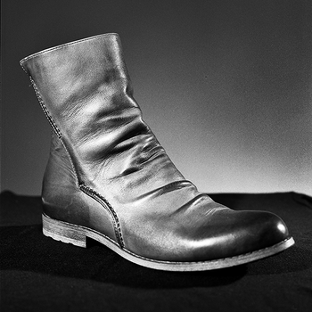 Leather boot, 2013.