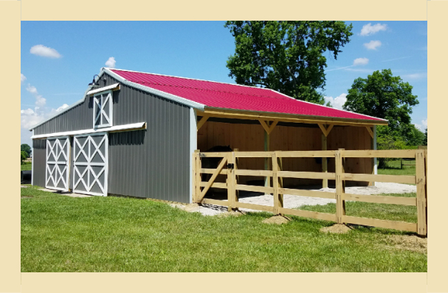Amish Roofers barn red wb