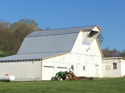 Amish Roofers metal Barn 06.18