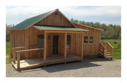 Amish Roofers cabin wb