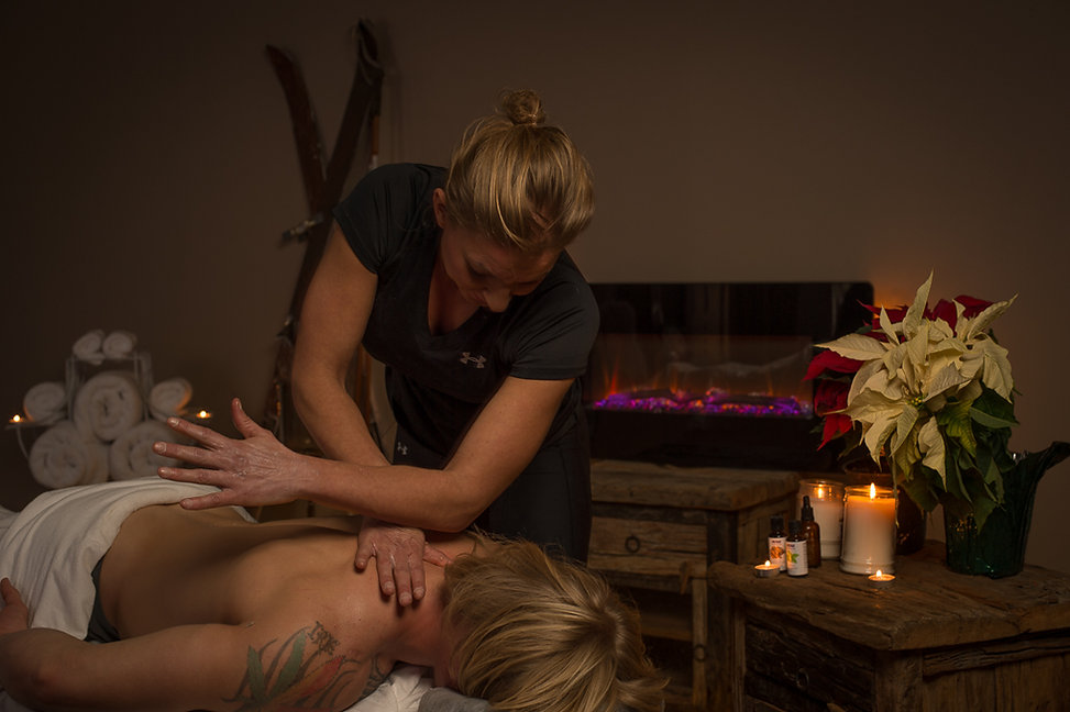 Heather Reddig business owner of Massage and Wellness offers deep tissue massage therapy