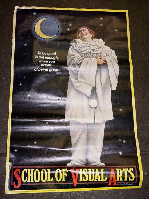 1978 School Of Visual Arts Poster