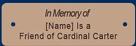 """In Memory"""