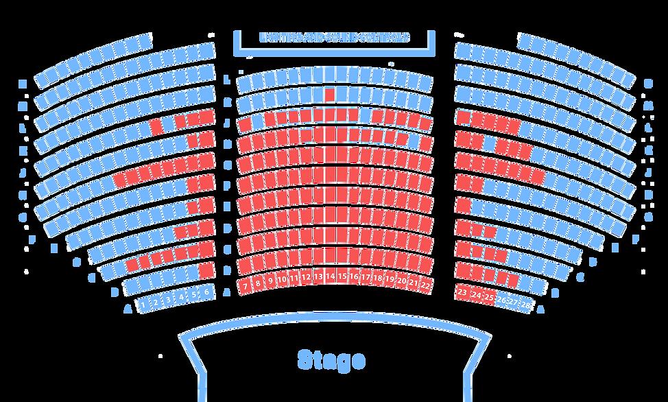 Cardinal Carter Theatre Map
