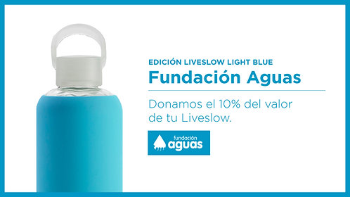 Liveslow Light Blue Fundación Aguas - 450ml