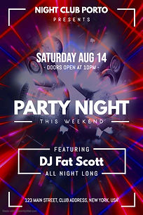 Copy of Party Event Flyer - Made with Po