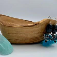 Blue Earrings $24