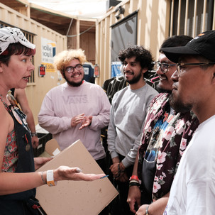 The Red Pears visit H.i.P.O.