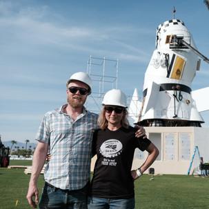 Derek Doublin and Vanessa Bonet