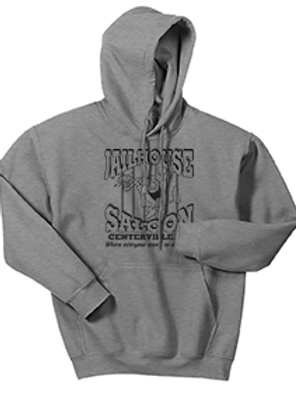 Gray Heavy Blend™ Hooded Sweatshirt
