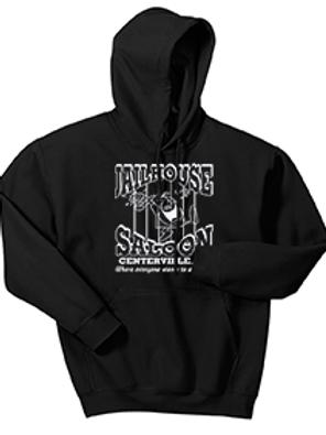 Black Heavy Blend™ Hooded Sweatshirt