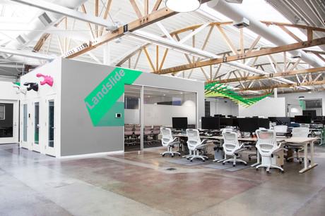 Commercial interior architecture for Hippo Insurance in Palo Alto by Dana Ben Shushan at Dana Design Studio