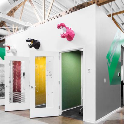 Interior design for Hippo Insurance Palo Alto by interior designer Dana Ben Shushan, Dana Design Studio