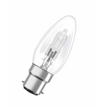 Osram Eco 28w B22d Clear Halogen Candle