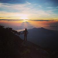 Sommet volcan Agung à Bali