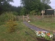 wheelbarrow and hideaway.JPG
