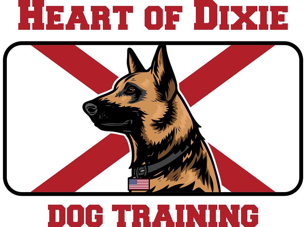 Heart of Dixie Dog Training logo