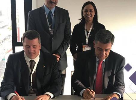 Firmamos un convenio de cooperación con Cotelco capítulo Bogotá-Cundinamarca