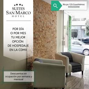 En Suites San Marco están listos para recibirte, aprovecha sus descuentos y promociones.