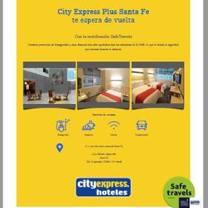 City Express Plus Santa Fe entre el lujo y la comodidad.