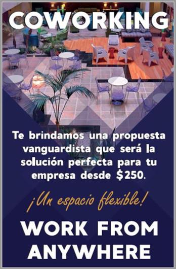 El Courtyard Mexico City Revolucion te ofrece un espacio flexible y vanguardista para trabajar.