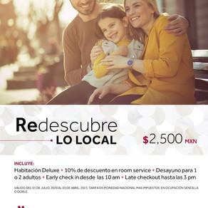 Redescubre lo local en Marriott Mexico City Reforma mientras tienes una estancia segura.