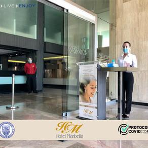 Con el mejor servicio y la mayor seguridad, el Hotel Marbella está listo para recibirte.