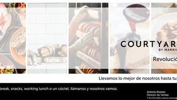 El Courtyard Mexico City Revolución te lleva los snacks hasta la oficina.