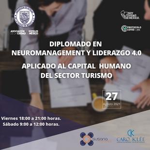 Te invitamos a nuestro nuevo Diplomado en Neuromanagement y Liderazgo 4.0.