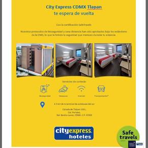 El City Express CDMX Tlalpan hará de tu estancia una grata experiencia.