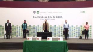 """Estuvimos presentes en la presentación del programa """"Turismo Seguro"""" en el Día Mundial del Turismo."""