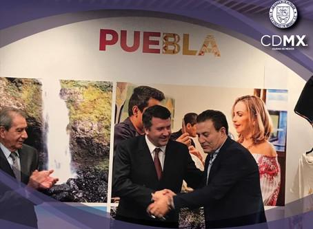 Firmamos un Convenio de Colaboración con a Asociación Poblana de Hoteles y Moteles.