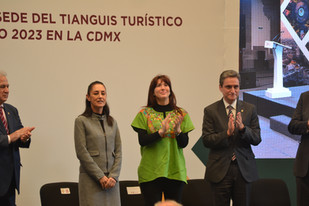 Es oficial, la CDMX es la sede del Tianguis Turístico 2023.