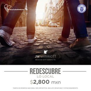 El máximo lujo le espera en JW Marriott Hotel Mexico City