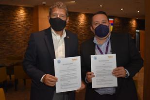 Convenio de colaboración entre Turibus y la AHCM.