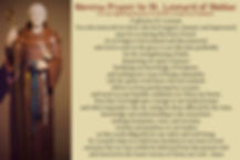 Novena Prayer to St Leonard