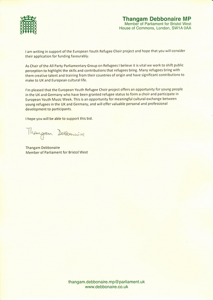Statement of Support European Refugee Choir Project.png