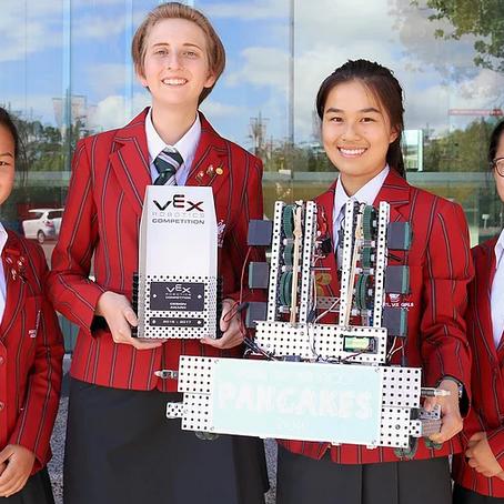 All girls team go to international robotics competition