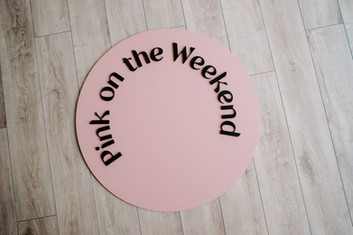 Pink On The Weekend