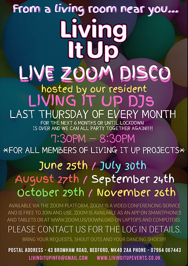 Download Living It Up Zoom Virtual Disco Poster 2.png