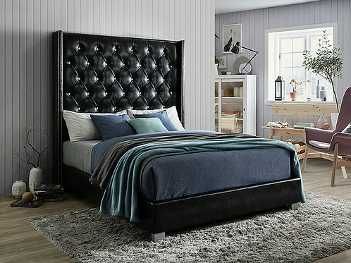 B9800 Beverly 72inch HB Queen/King Bed