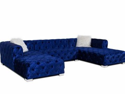 MADRID BLUE SECTIONAL