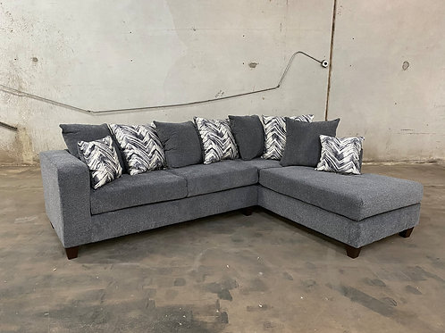 110 - Charcoal Sectional