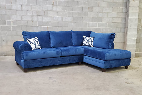 900 Blue Sectional